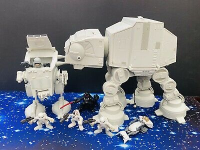 STAR WARS  GALAXY  HEROES  ACTION FIGURES &  VEHICLES BATTLE OF HOTH BUNDLE