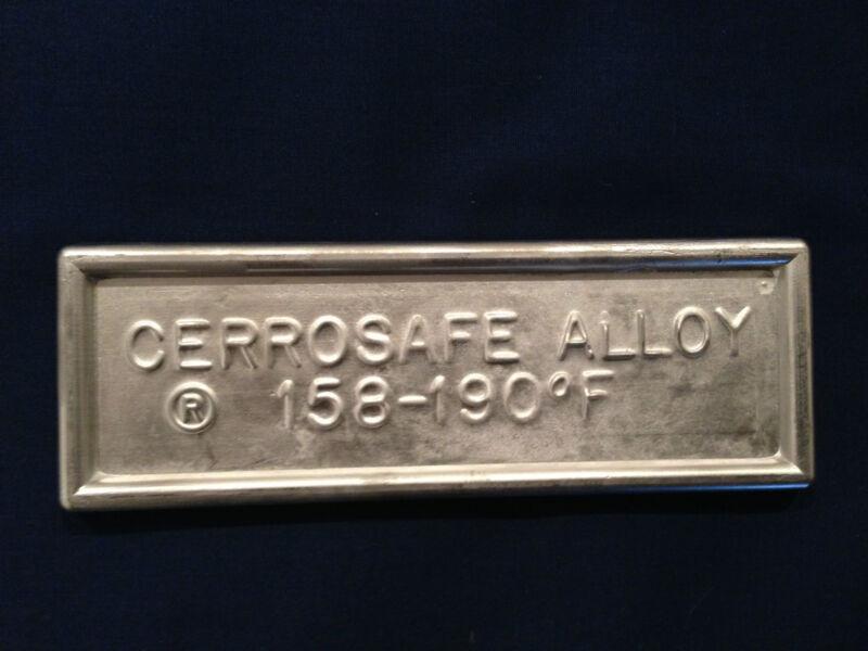 Cerrosafe 160-190 Chamber Casting Alloy 1 lb. (2 - 1/2 lb. ingots)