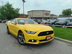 2015 Ford Mustang CLEAN CAR FAX| CAM | RARE 6 SP |