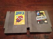 Super Nintendo Game Lot
