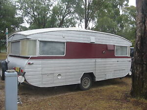 classic vintage 1965 Roadmaster Caravan Mount Nathan Gold Coast West Preview
