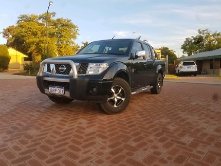2008 Nissan Navara ST-X Turbo Diesel Automatic O'Connor Fremantle Area Preview