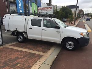 2007 TOYOTA HILUX DUAL CAB 2.7LTR 5 SPEED MANUAL WORKMATE Highgate Perth City Area Preview