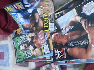 wwe and wwf magazines