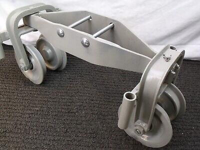 Hoist I-beam Push Trolley 3k-8602 20 Length Straight Or Curved Beams