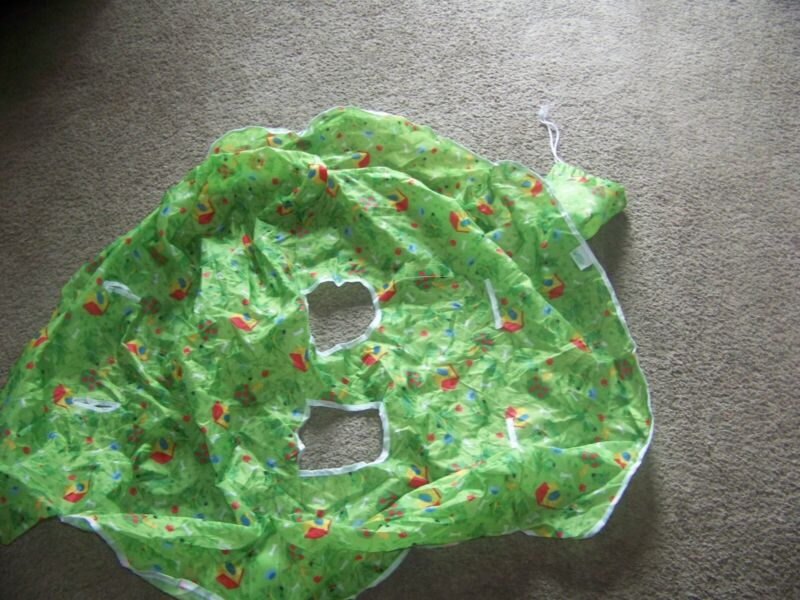 GREEN SPROUTS SHOPPING CART COVER EUC
