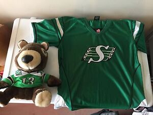 Roughriders Jersey and Driver head cover.
