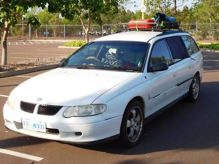 2001 Commodore Wagon perfect for travellers and backpackers Darwin CBD Darwin City Preview