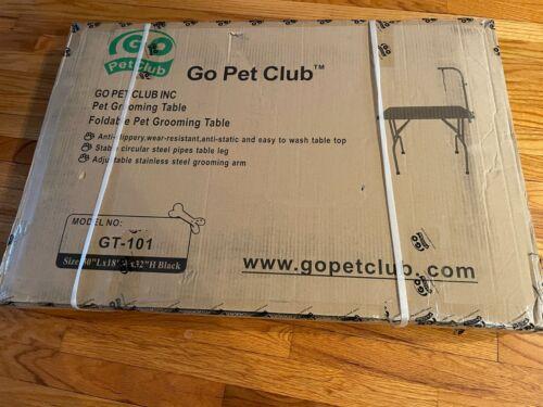 Go Pet Club GT-101 Dog Grooming Table - Black ( NIB ) NO SHIPPING !