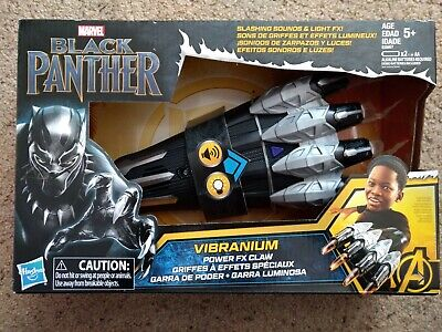 Black Panther For Kids (Marvel Black Panther Vibranium Power FX Claw for Kid Children Boy Girl Toy)