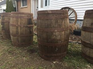 Antique wine/whiskey barrels for rent! Perfect for weddings