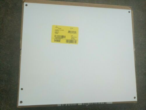 HOFFMAN A14P12 Panel, White Painted Steel