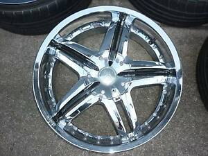Dolce`20 inch chrome wheels suit most Mercedes or Audi Northgate Brisbane North East Preview