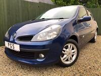 "2007/57 RENAULT CLIO 1.2 16V TCE 100BHP 5 DOOR DYNAMIQUE ""ONLY 76K"""