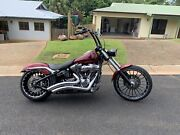 Custom Harley Davidson Breakout Mount Sheridan Cairns City Preview