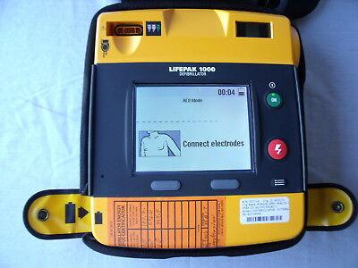 Physio Control Lifepak 1000 Aed Tested B13