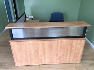 Reception Desk - $450 obo