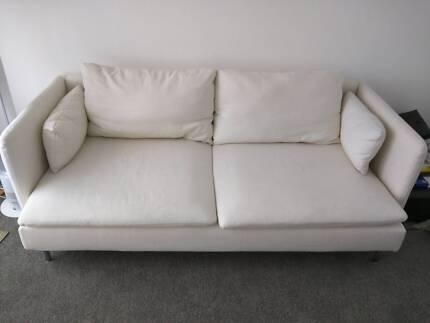 IKEA Soderhamn 3 seater sofa (Isefall natural colour) Mosman Mosman Area Preview