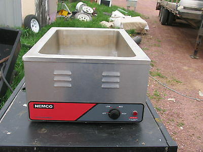 Nemco Full Size Countertop Food Warmercooker 1200 Watts - 6055a