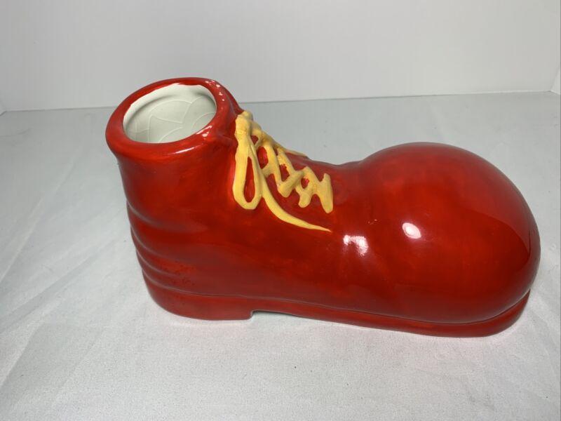 ronald mcdonald mcdonalds Shoe Planter Vintage Rare