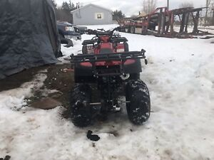 SOLD 4 wheeler 250cc