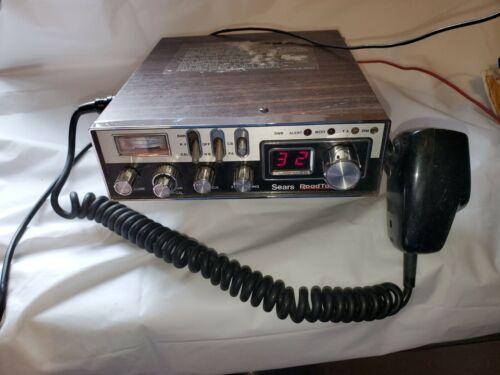 Sears RoadTalker 40 CB Radio CM-6000LA 12V Mobile Vehicle Radio 40 Channel GS