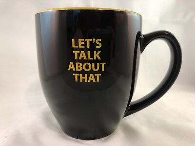 - Rhett & Link GMM Good Mythical Morning Let's Talk About That Coffee Cup Mug