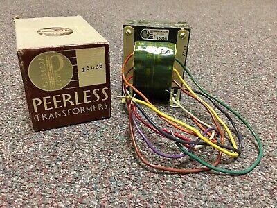 Vintage Altec Lansing Peerless 15066 Transformer With Box