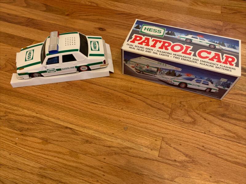 VINTAGE 1993 HESS Truck Police Patrol Car NIB COLLECTOR QUALITY (MINT)