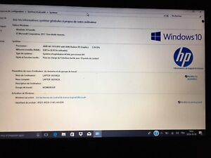 Laptop HP Touch