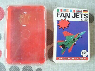 Quartett piatnik Wien Fan Jets Flugzeuge airplanes 4743 vintage