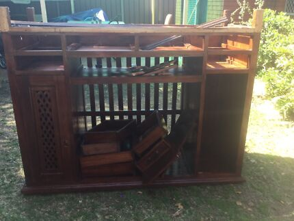 Free timber for recycling  Birrong Bankstown Area Preview