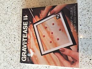 VINTAGE GRAVITY PUZZLE GRAVI-TEASE II NEW IN PACK 1980