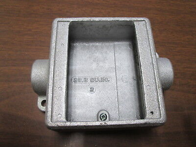 Crouse-hinds Explosion Proof Conduit Box Fsc 12fsc 222 Used