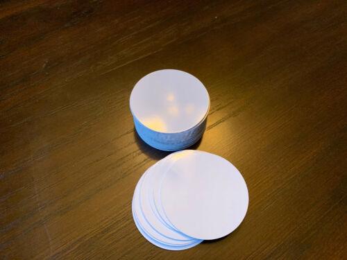 "3"" Round Insert Sublimation Aluminum Blank Disc- Lot of 50PCs"