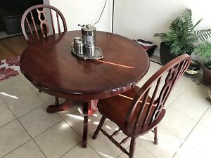 Used dining table with chair