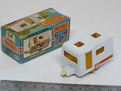 LESNEY MATCHBOX NO.31 Caravan  Excellent w// Original Box