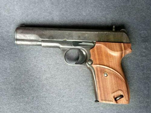 Tokarev TT pistol walnut wood grip