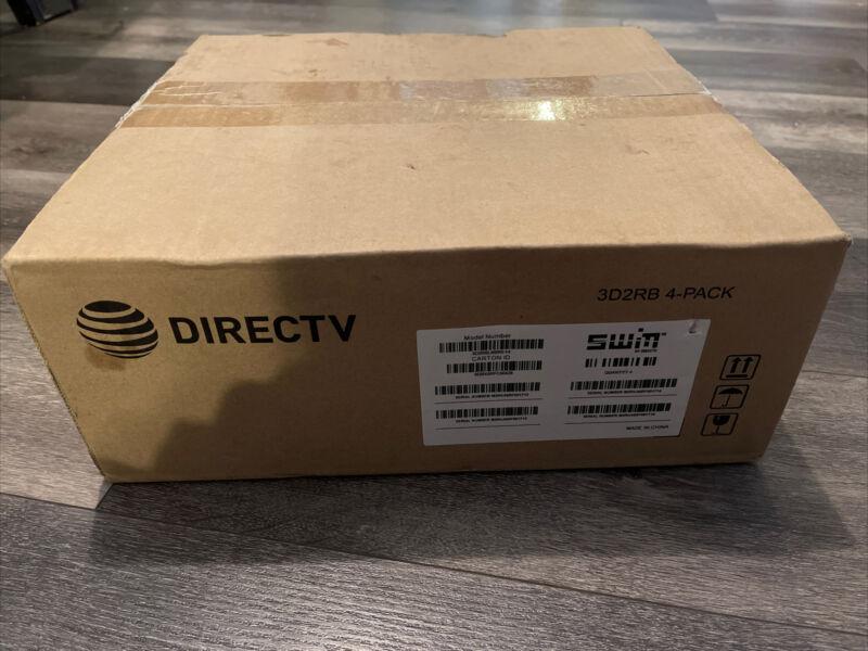 Lot Of 4 DirecTV SWM3 LNB Reverse Band 3D2RB Satellite DTV SWiM 3 LNBF AT&T