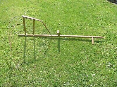 Antique Garden Pond Dredger Cleaner...Very Rare!!!...160cm x 57cm..