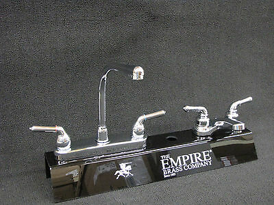 RV Marine Mobile Home Parts Kitchen Sink & Bathroom Lav Faucet Combo Chrome