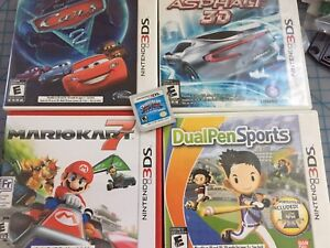 Lot of 5 Nintendo 3DS and 2DS games