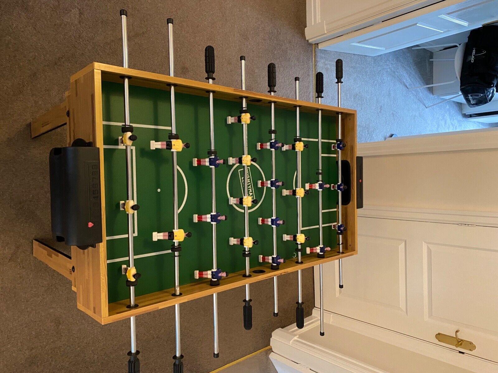 Mini Table Football and Pool Table