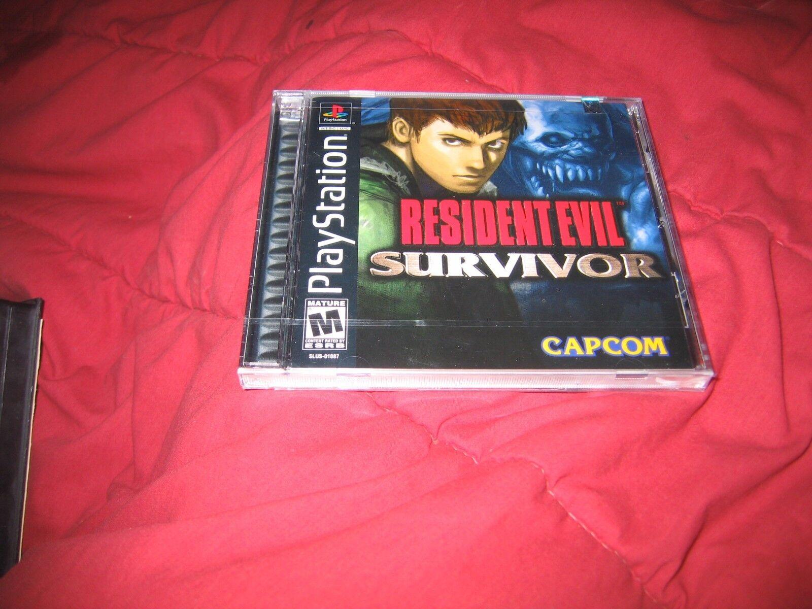 $109.99 - Sony PlayStation Resident Evil Survivor Brand New Factory Sealed PS1
