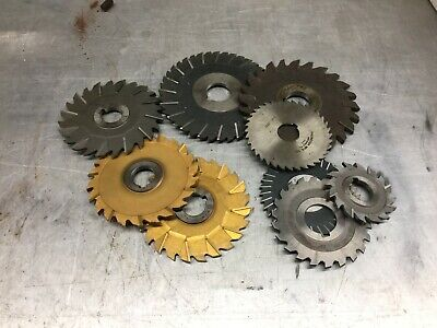 Lot Of Assorted Mill Cutters 3 - 6 X 1 Hole X 14 316 0937 18 Other
