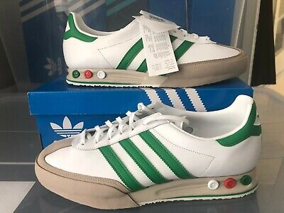 Adidas Kegler Super brand new in box Size uk 10.5 White & Green Deadstock 2013