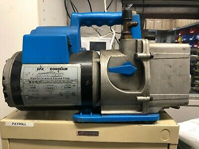 Spx Robinair Cooltech Two Stage High Performance Vacuum Pump 12 Hp