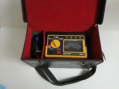 Megger Biddle Instruments Insulation Tester Bm14
