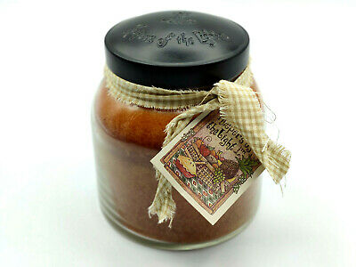 A Cheerful Giver Orange Cinnamon Clove 34 oz. Papa Jar Candle, 34oz  - Used