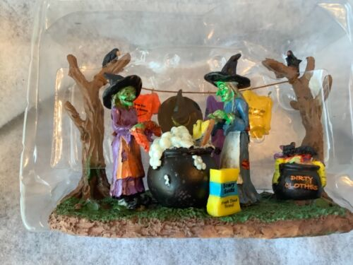 Spooky Town collection witches laundry day